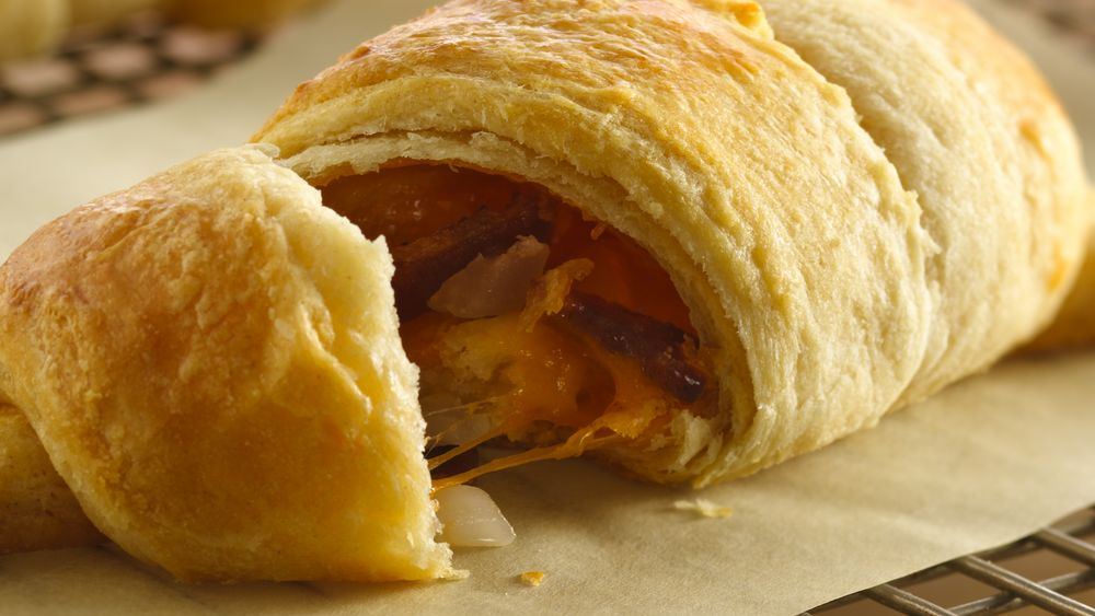 Bacon and Cheese Crescents