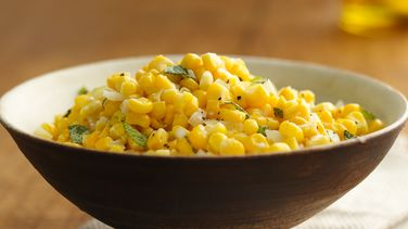 Sweet Corn with Sage