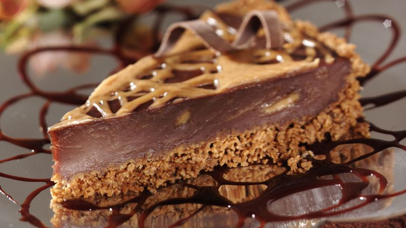 Chocolate-Peanut Butter Pie Recipe - BettyCrocker.com
