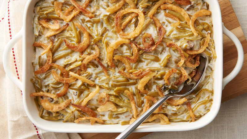 green bean casserole recipe bettycrocker com