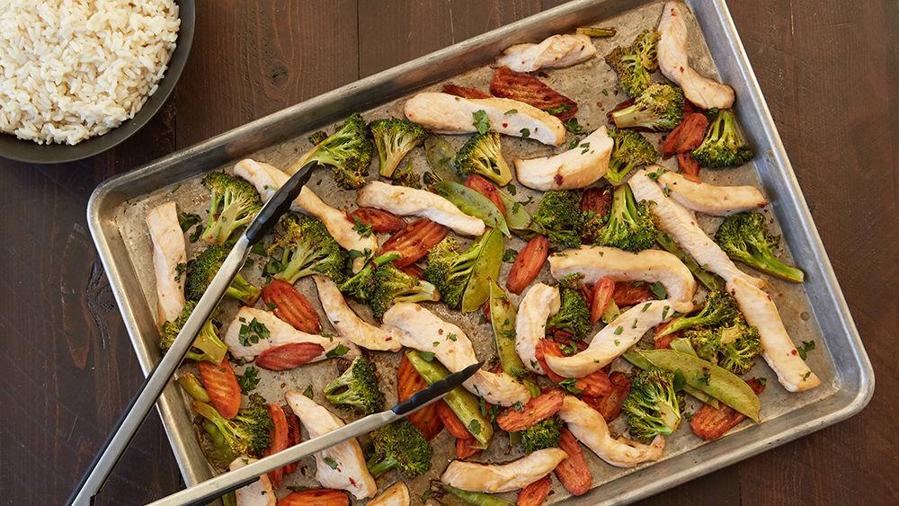 Asian Stir-Fry Sheet-Pan Dinner