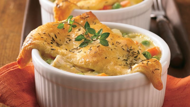 Mini Crescent Chicken Pot Pies