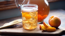 Boozy Sweet Tea Peach Punch