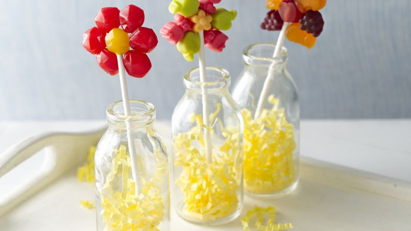Fruit Flavored Snack Flower Pop