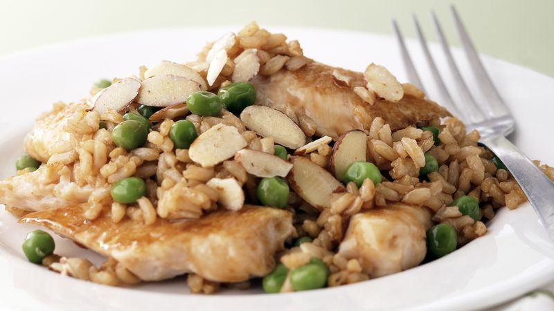Skinny Asian Chicken and Rice