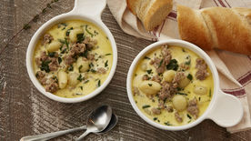 Sausage and Gnocchi Soup