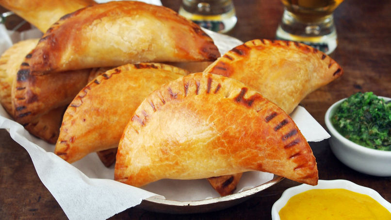 Shrimp and Crab Empanadas