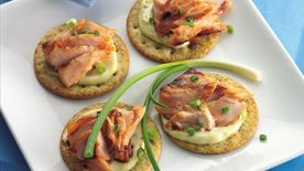 Grilled Salmon with Wasabi Mayonnaise