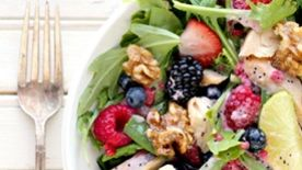 Grilled Chicken and Fruit Salad