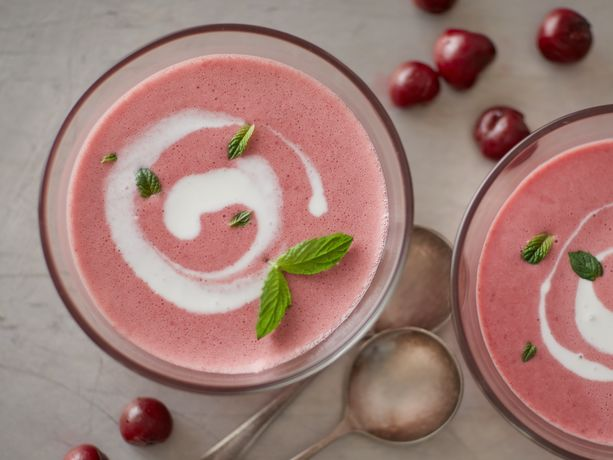 Chilled Tart Cherry Soup