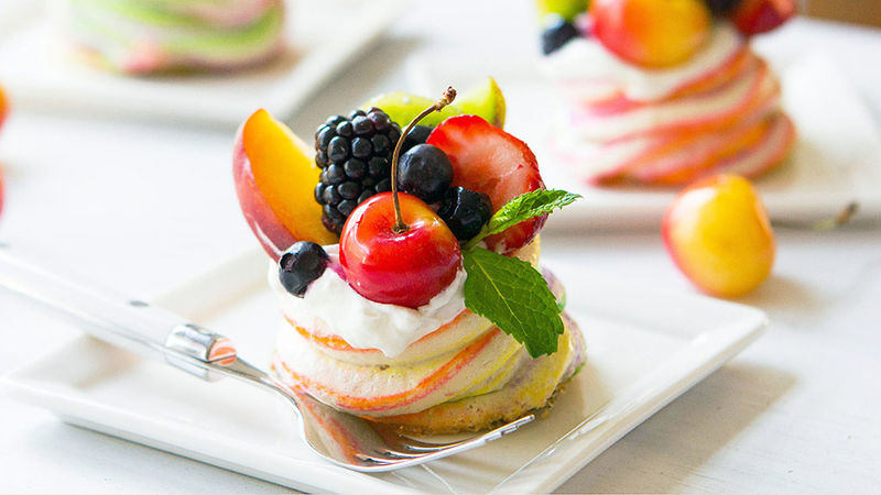 Meringue Fruit Cups