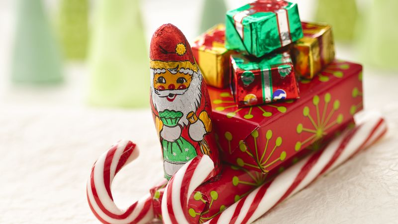 santas candy sleighs - Candy Sleighs For Christmas