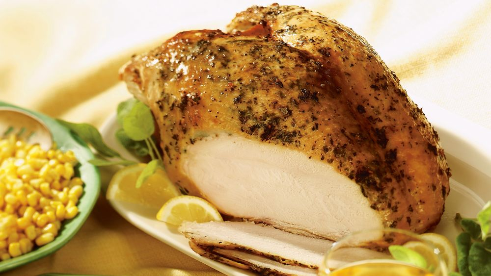 Lemon and Herb-Roasted Turkey Breast