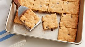 Soft-Baked Chocolate Chip-Cream Cheese Cookie Bars