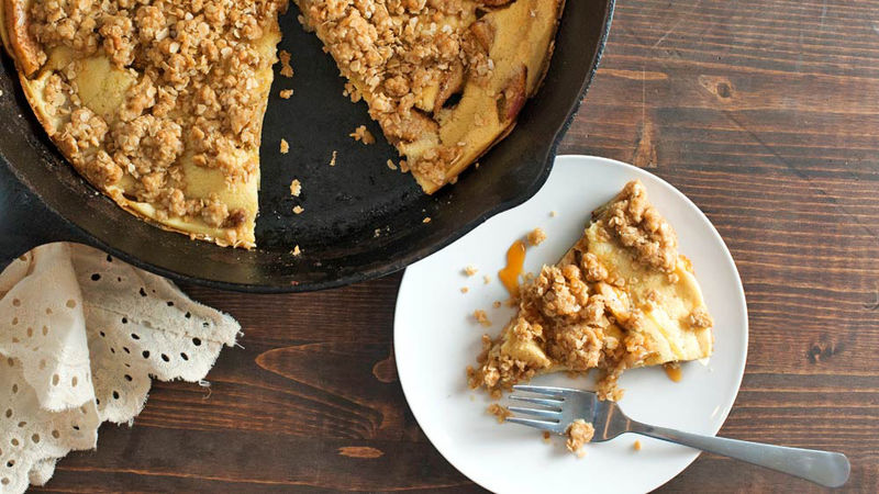 Apple Crisp Dutch Baby Pancake