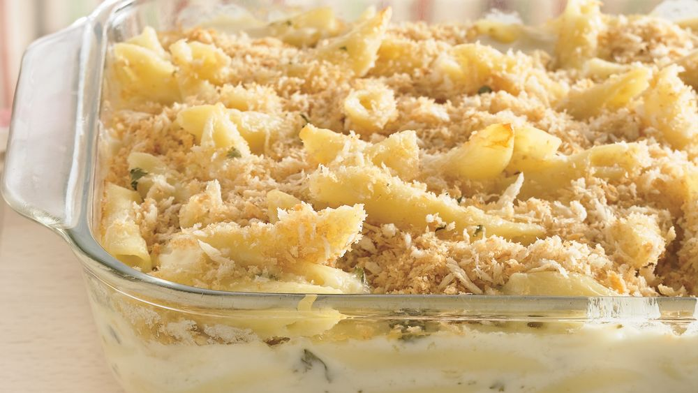 Four-Cheese Pasta