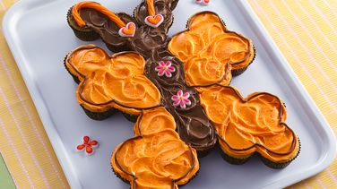 Pull-Apart Butterfly Cupcakes