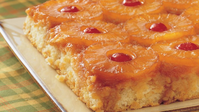 Easy Healthy Pineapple Upside Down Cake Recipe
