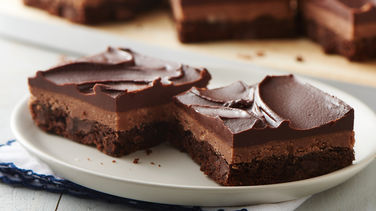 Triple-Layer Truffle Bars