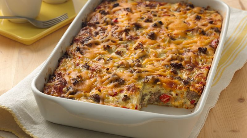 impossibly easy breakfast bake crowd size