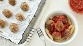 Spicy Italian Pork Meatballs