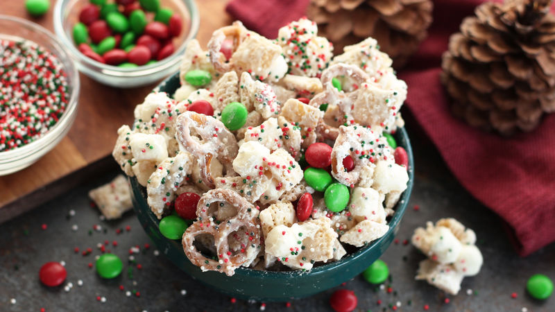 Chex Mix Christmas.Christmas Chex Party Mix