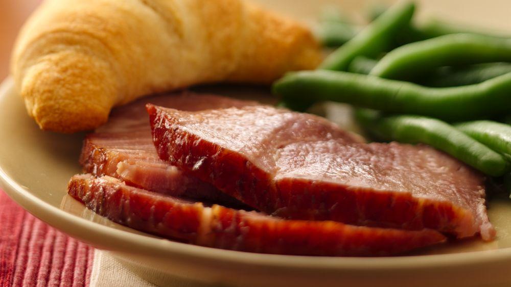 Slow-Cooker Honey-Dijon Ham
