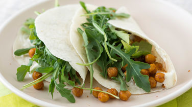 Spicy Chickpea Tacos