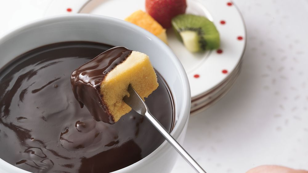 Dark Chocolate Fondue