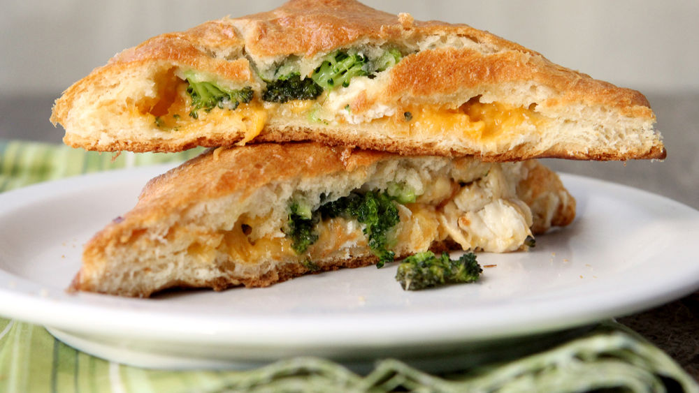 Broccoli, Chicken and Cheddar Hand Pies