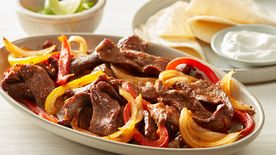 Easy Sheet-Pan Beef Fajitas