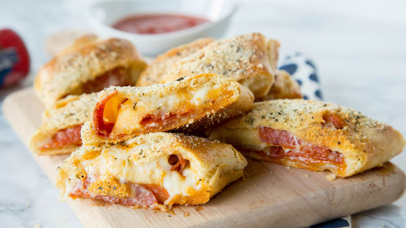 Pepperoni Pizza Bread Recipe Pillsbury Com
