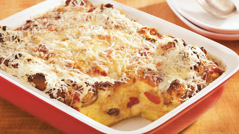Make-Ahead Italian Biscuit Strata