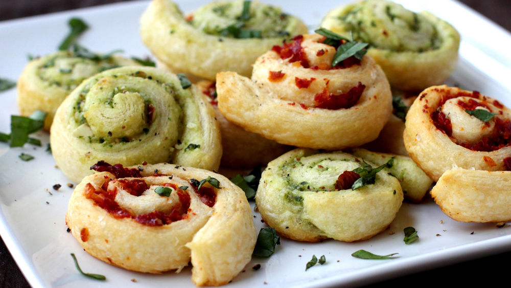 Pesto Crescent Swirls