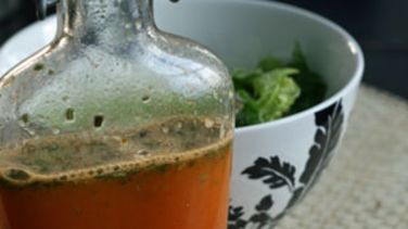 Honeybell Orange Rosemary Vinaigrette