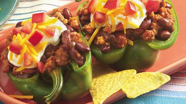 Taco-Seasoned Stuffed Peppers