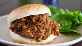 Veggie Filled Sloppy Joes