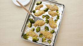 Sheet-Pan Chicken and Broccoli