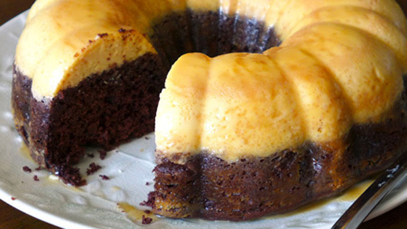 Chocoflan Recipe Tablespoon Com