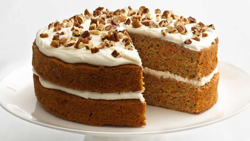 Skinny Carrot Cake Recipe Bettycrocker Com