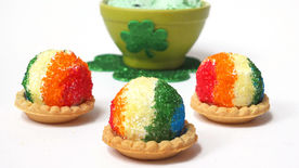Mini Shamrock Tarts