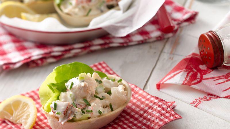 Lobster Roll Mini Taco Bowls