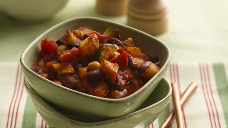 Easy Black Bean Chili