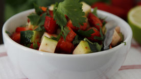 Strawberry Cucumber Salsa