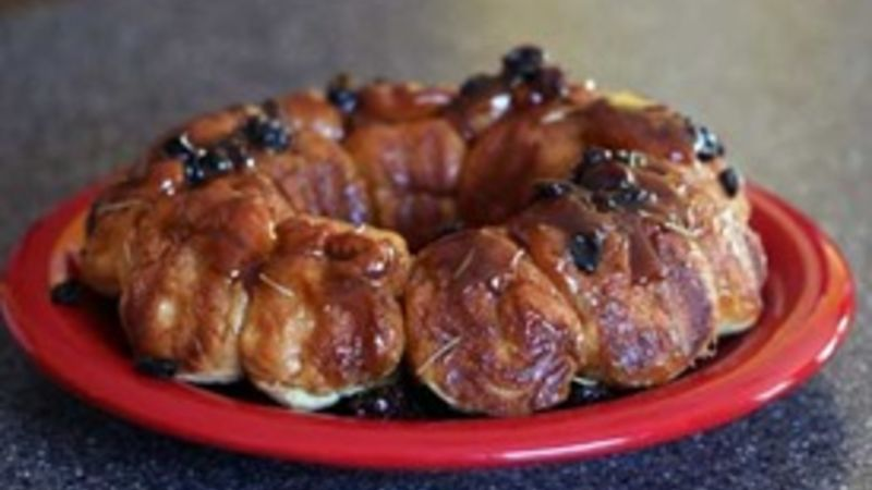 Rosemary Raisin Monkey Bread