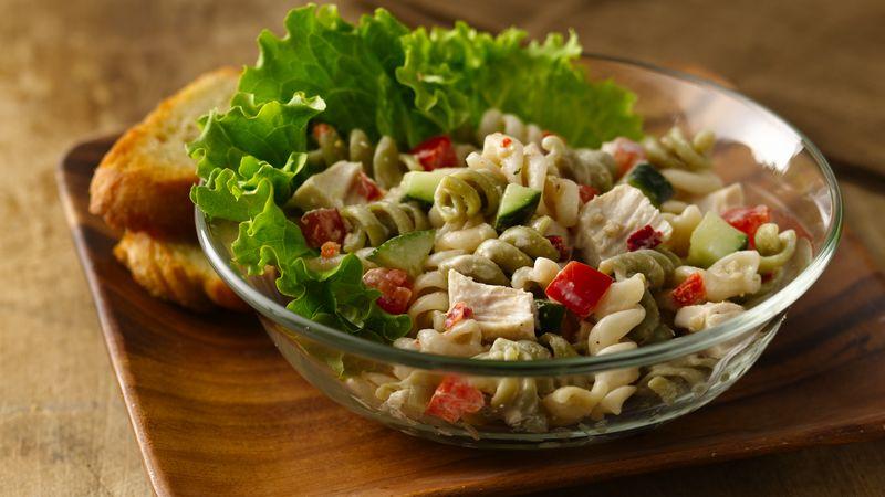 Chicken Parmesan Pasta Salad