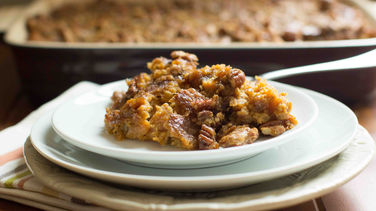 Brown Sugar-Pecan Sweet Potato Casserole