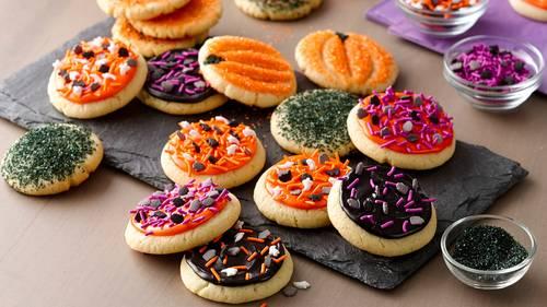 Easy Halloween Cookies Recipe Bettycrockercom