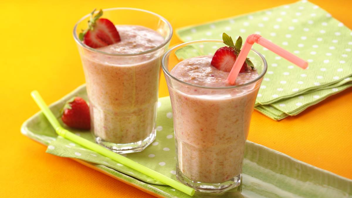 Fibre 1* Strawberry Smoothies