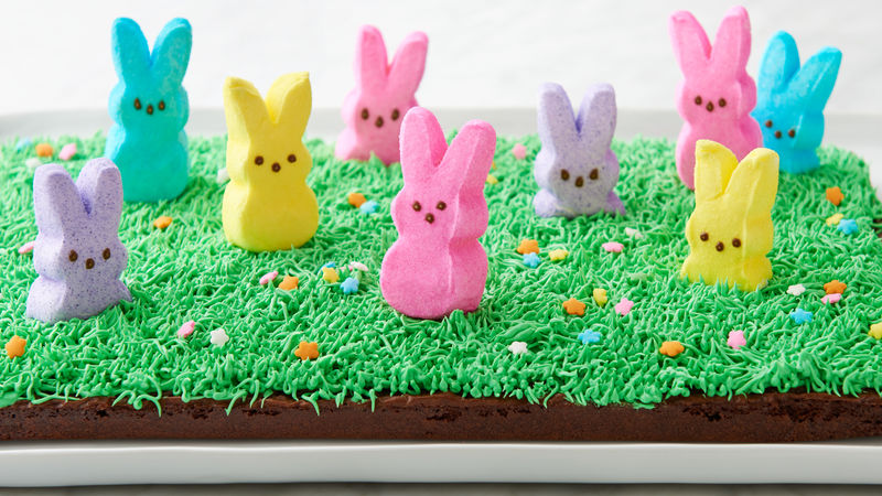 Peek-a-Boo PEEPS® Bunny Brownies